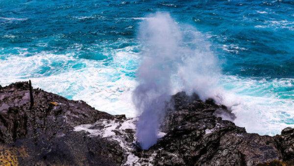 ハロナ潮吹き岩【オアフ島東海岸のおすすめ絶景スポット】