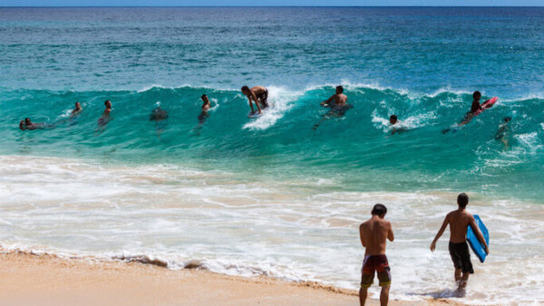 サンディビーチ【ハワイで最も人気なボディボードスポット】