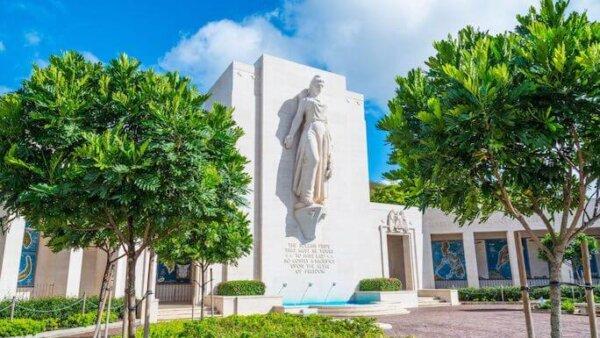パンチボウル(国立太平洋記念墓地)【戦没者が眠るモニュメント】